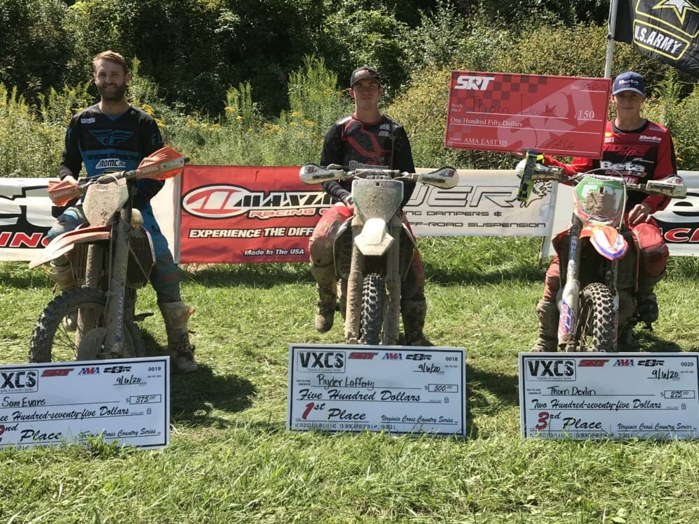 2020 East Hare Scrambles Round 7 Results