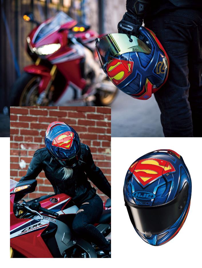 HJC's RPHA 11 Superman Helmet