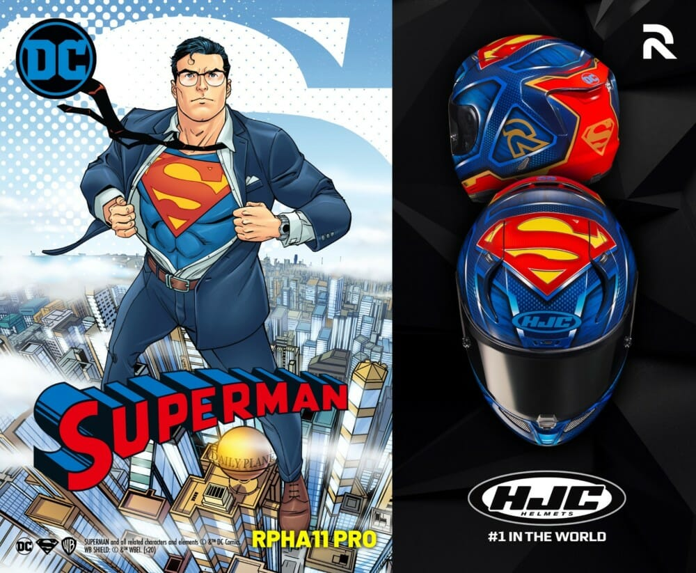 HJC RPHA 11 Superman Helmet