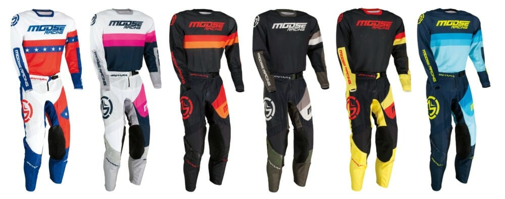 Moose Racing's 2021 Sahara Racewear