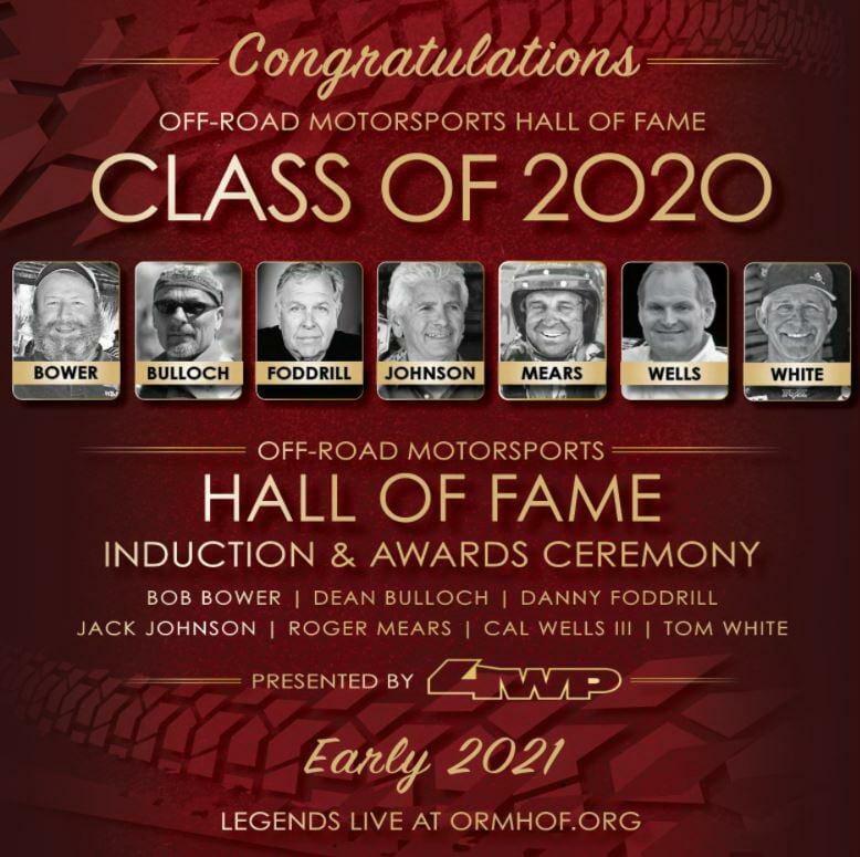 Tom White – ORMHOF Class of 2020