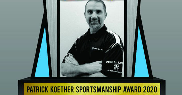 Patrick Koether Memorial Sportsmanship Award | NEPG is accepting nominations for the 2020 Patrick Koether Memorial Sportsmanship award.