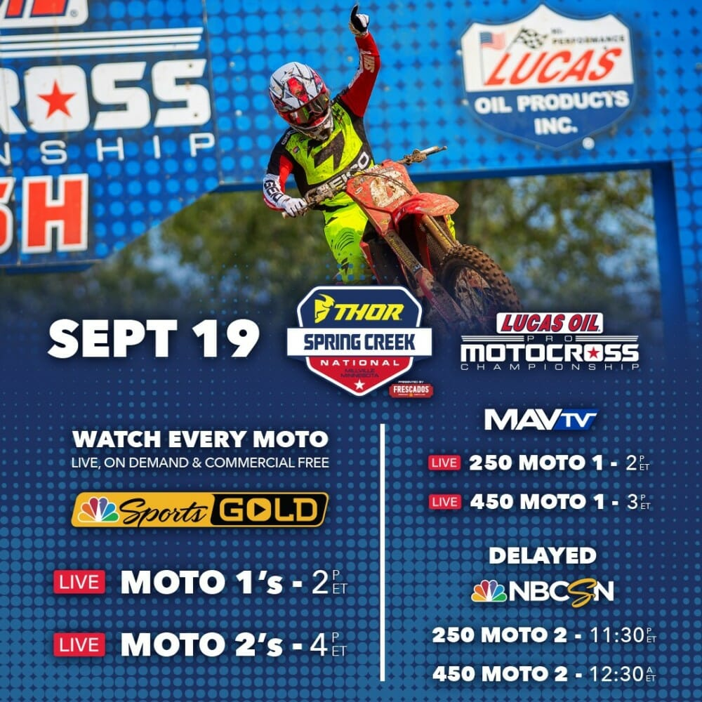 How to Watch Spring Creek National