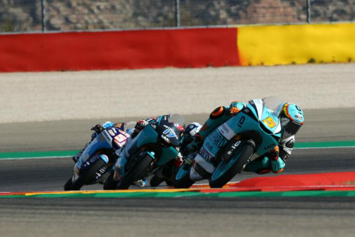 2020 Aragon MotoGP Results Masia wins