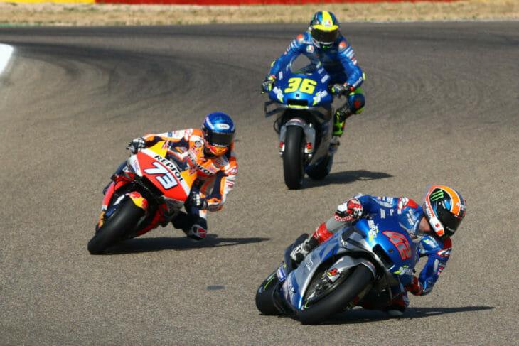 2020 Aragon MotoGP Results Rins wins