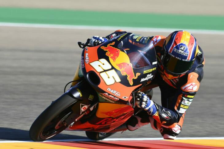 2020 Aragon MotoGP Fernandez pole