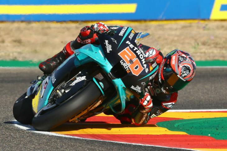 2020 Aragon MotoGP Quartararo pole