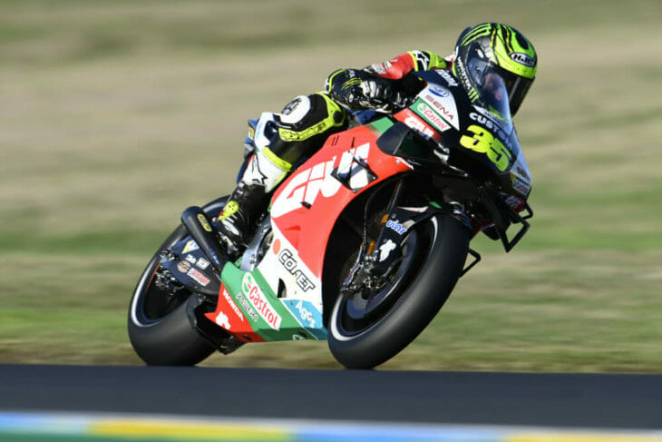 2020 French MotoGP Results Crutchlow