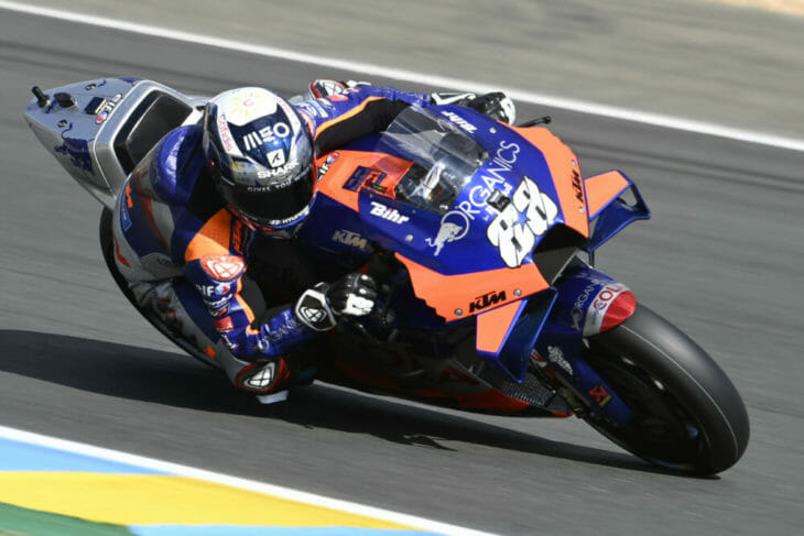 2020 French MotoGP Results Oliveira Bagnaia