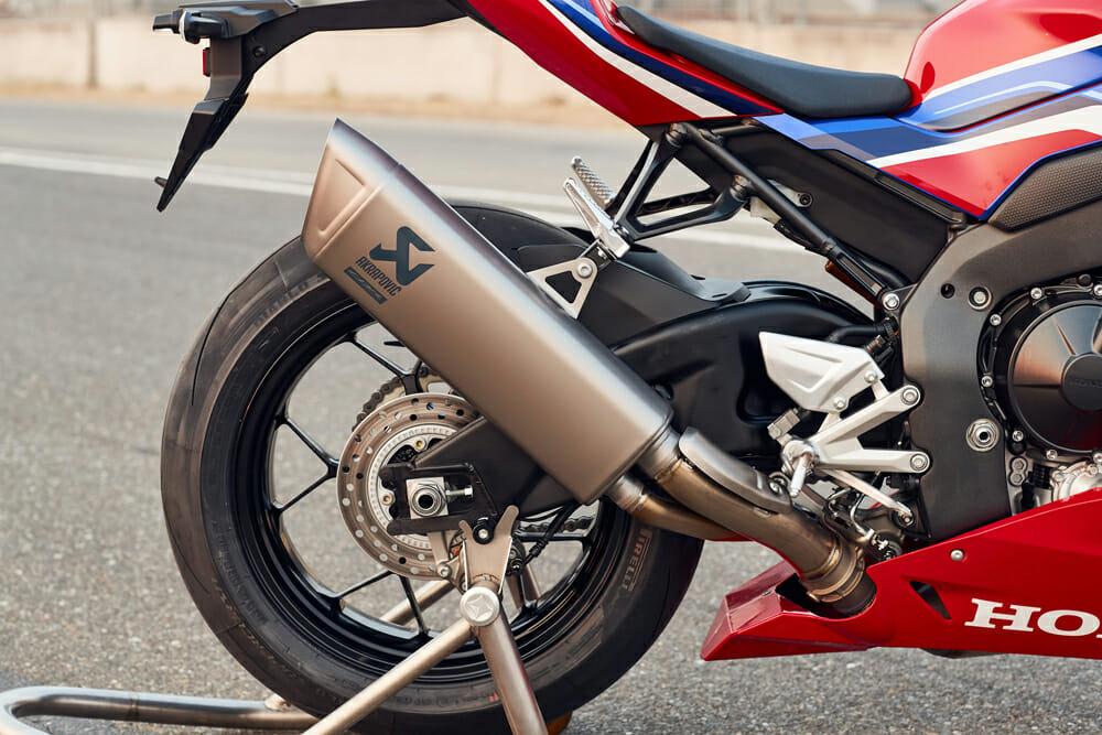 2021 Honda CBR1000RR-R Fireblade SP Akrapovic exhaust