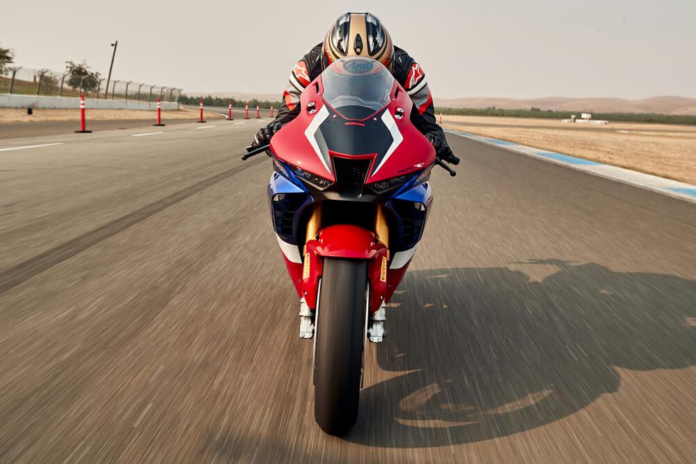 2021 Honda CBR1000RR-R Fireblade SP front view
