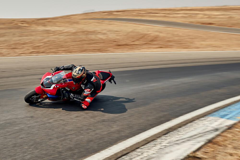 2021 Honda CBR1000RR-R Fireblade SP at Thunderhill racetrack