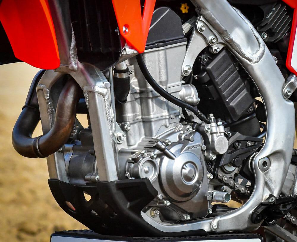 2021 Honda CRF450R clutch