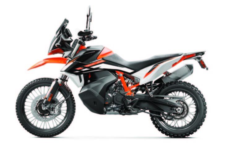2021 KTM 890 Adventure R side