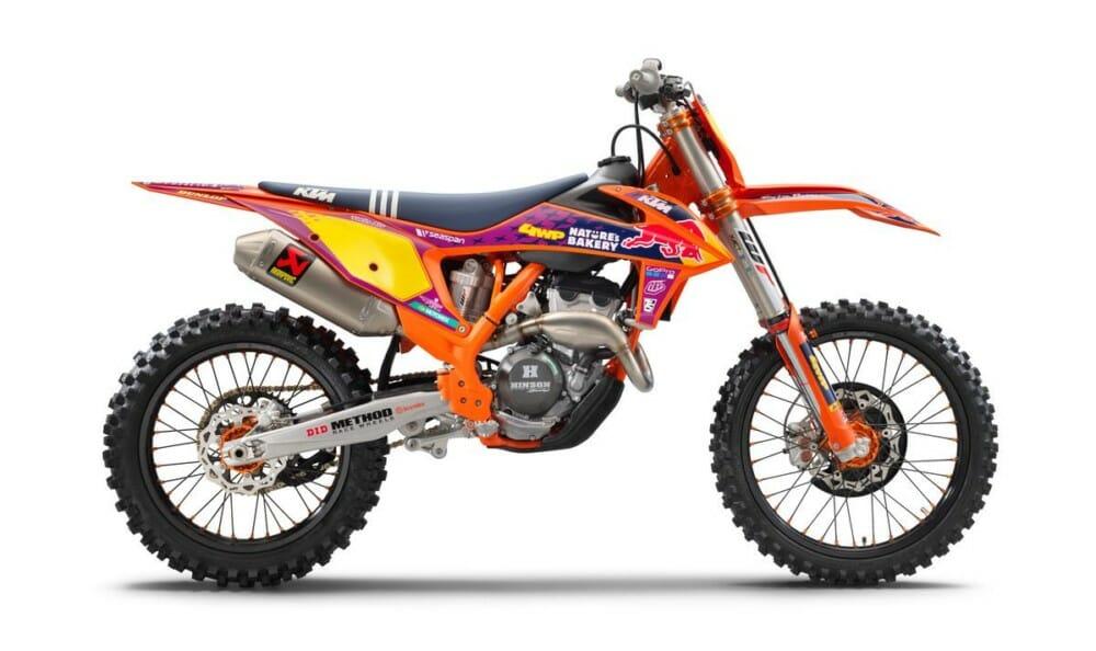 2021 KTM 250 SX-F Troy Lee Designs Motorcycle