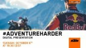 Take Part in the Unveiling of KTM's Next Adventure