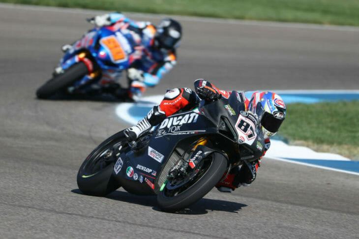 2020 MotoAmerica Indianapolis results Friday Zanetti