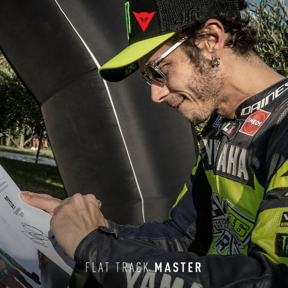 Dainese Flat Track Master | The Art of Motorcycle Control With Valentino and the Academy