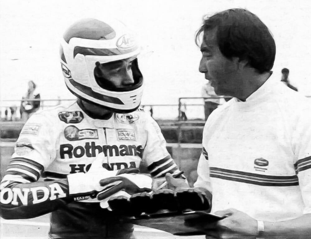 Freddie Spencer with Erv Kanemoto