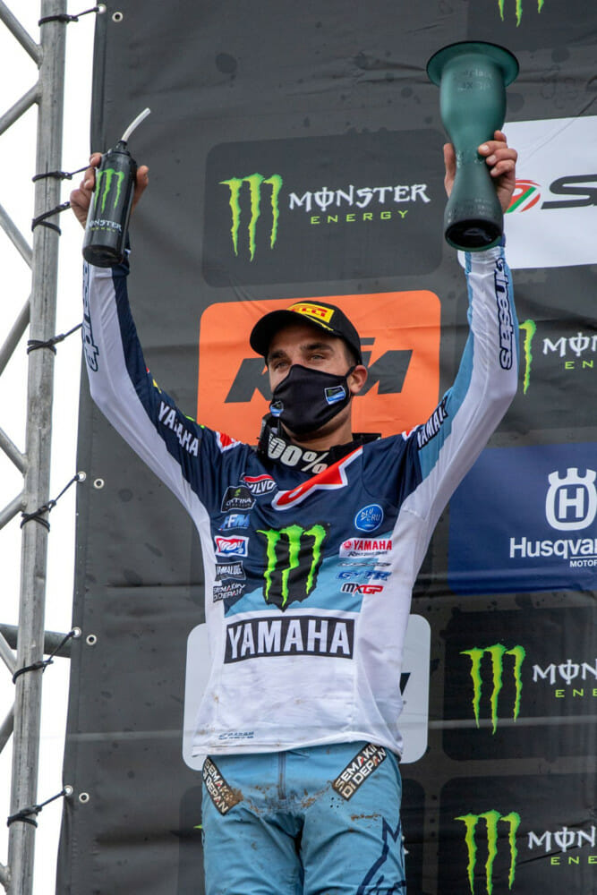 Gautier Paulin Photo:.Yamaha