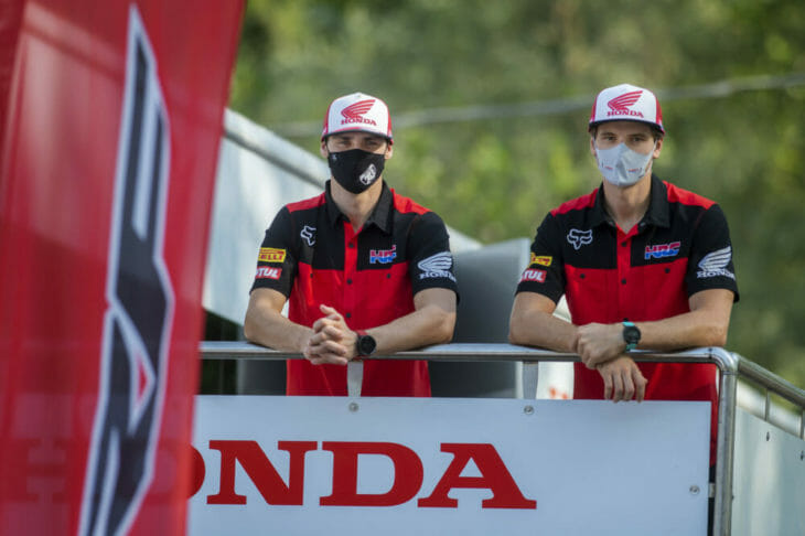 HRC Renews Contracts With Tim Gajser and Mitchell Evans