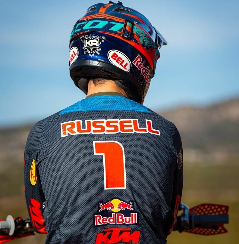 FMF KTM Factory Racing's Kailub Russell