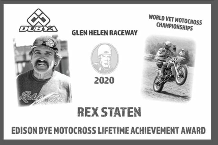 Rex Staten Honored With Edison Dye Achievement Award