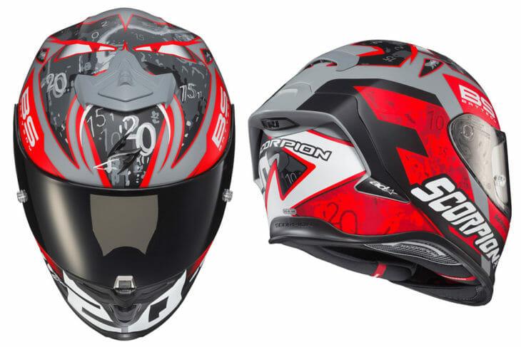 Scorpion EXO-R1 Air Fabio Quartararo helmet