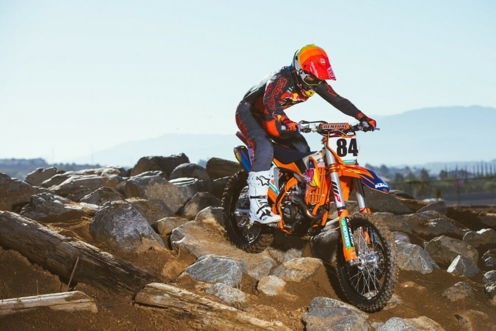 Trystan Hart Signs With FMF KTM Factory Racing Team Through 2023