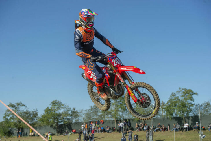 Tim Gajser at MXGP of Mantova