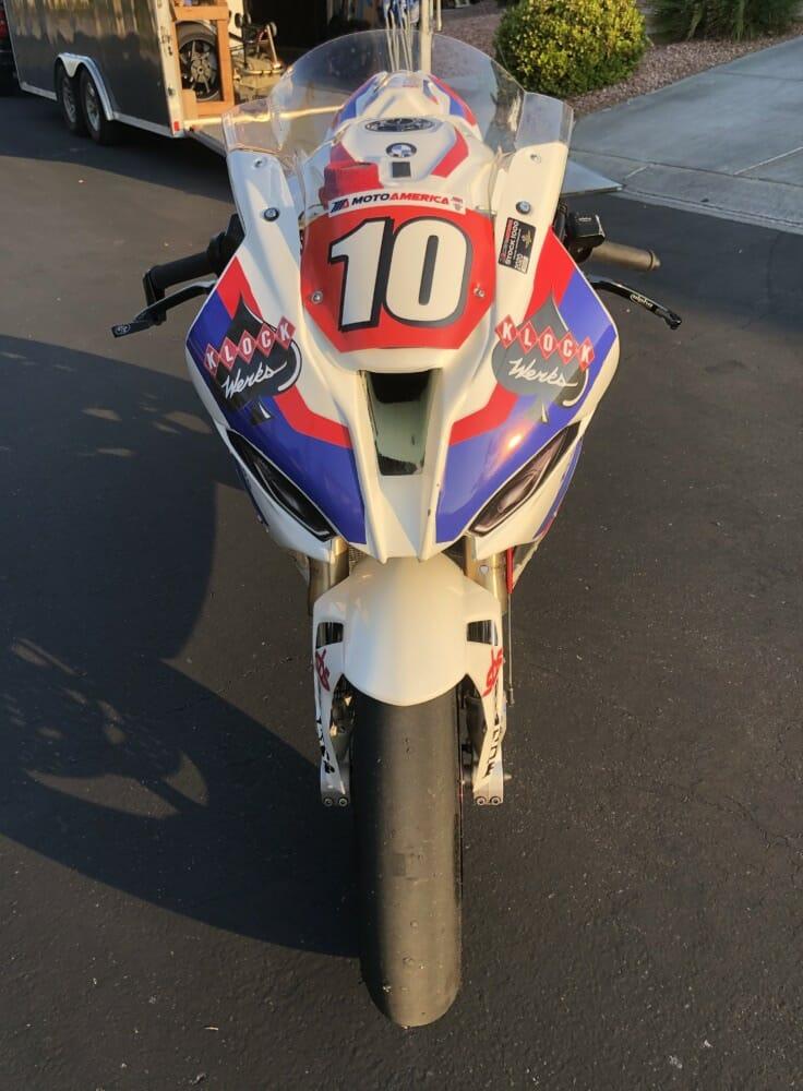 Klock Werks Sponsoring Travis Wyman Racing BMW at MotoAmerica Season Finale