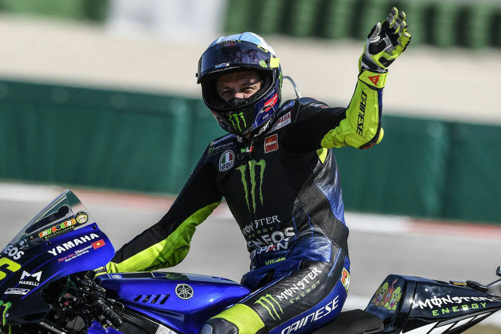 Yamaha and Rossi Renew Contract
