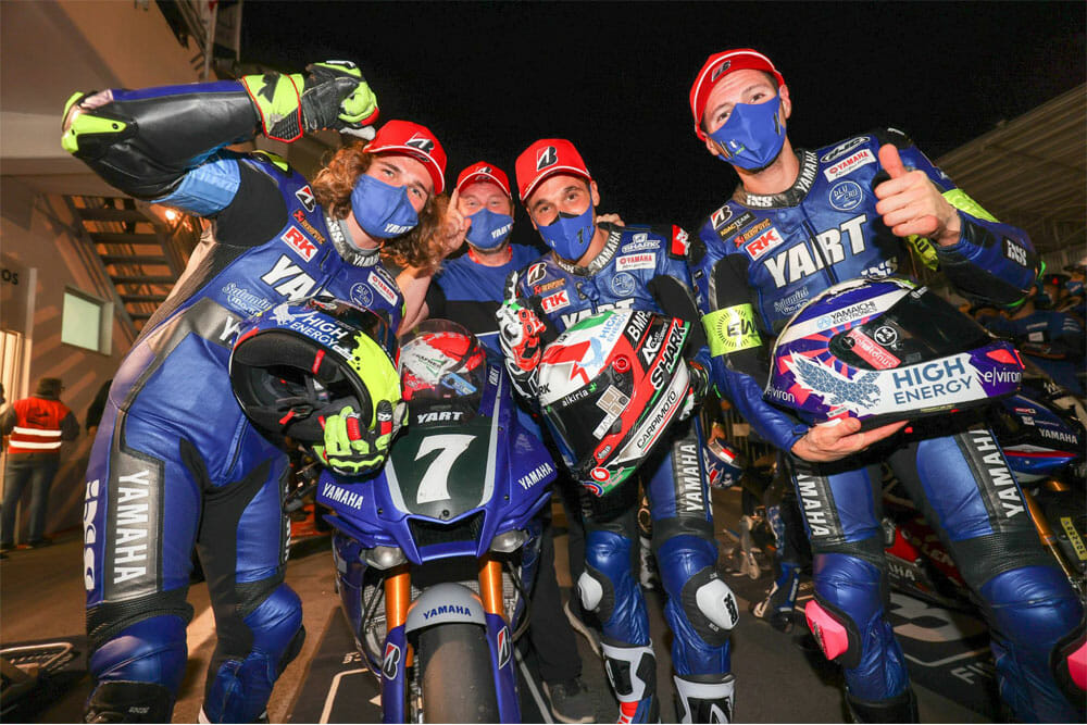 2020 12 Hours of Estoril Results | YART Yamaha Wins; Suzuki Endurance Claims 16th World Title