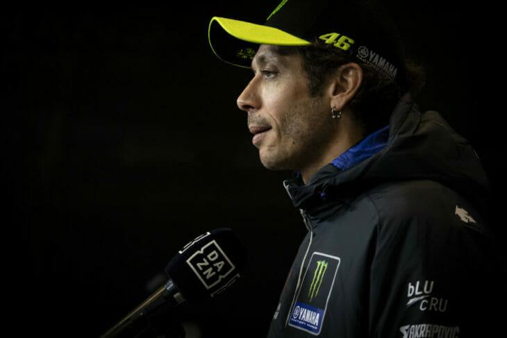Valentino Rossi struck down by Covid-19
