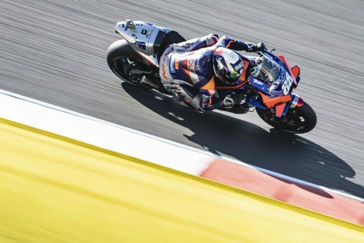 2020 Portuguese MotoGP Oliveira takes pole