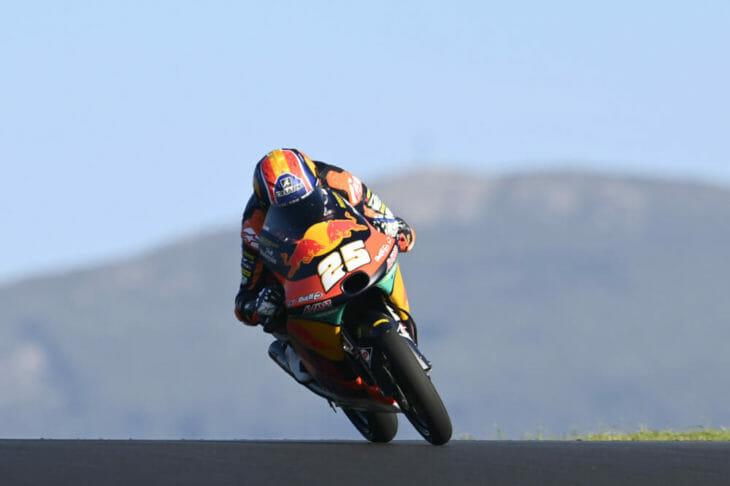 2020 Portuguese MotoGP Fernandez takes pole