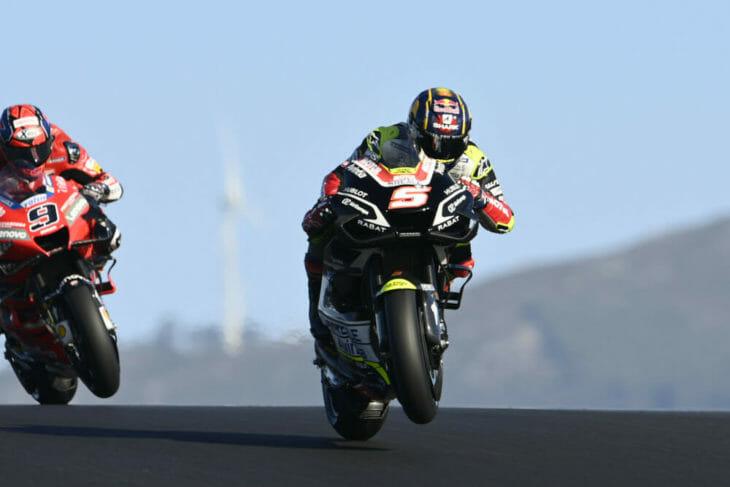 2020 Portuguese MotoGP Saturday News Zarco