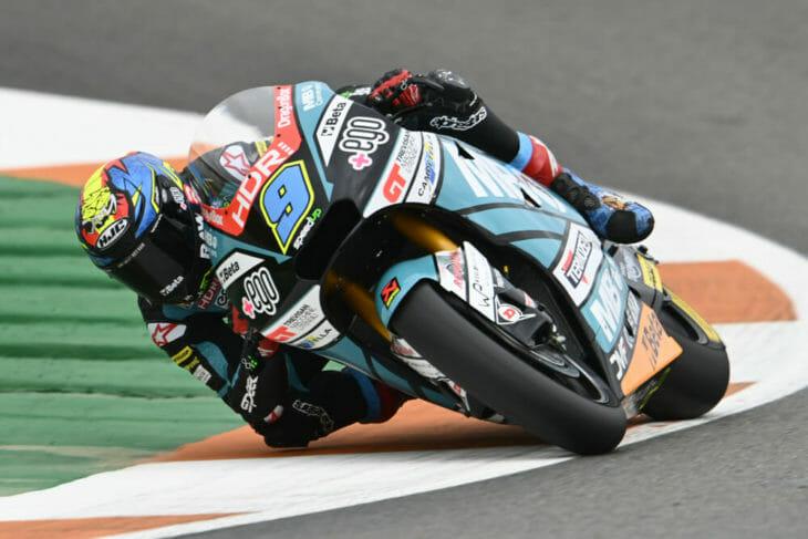 2020 Valencia MotoGP Navarro Friday fastest