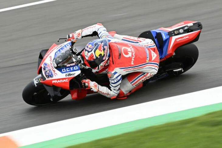 2020 Valencia MotoGP Miller Friday fastest