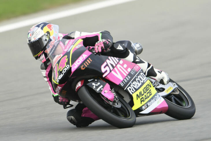 2020 Valencia MotoGP Arbolino Friday fastest