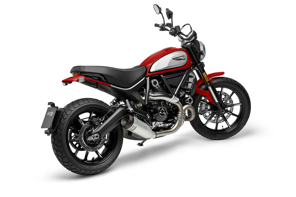 2021 Ducati Scrambler Icon in Ducati Red