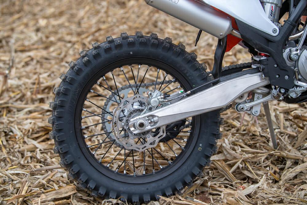 2021 KTM 125 XC rear wheel