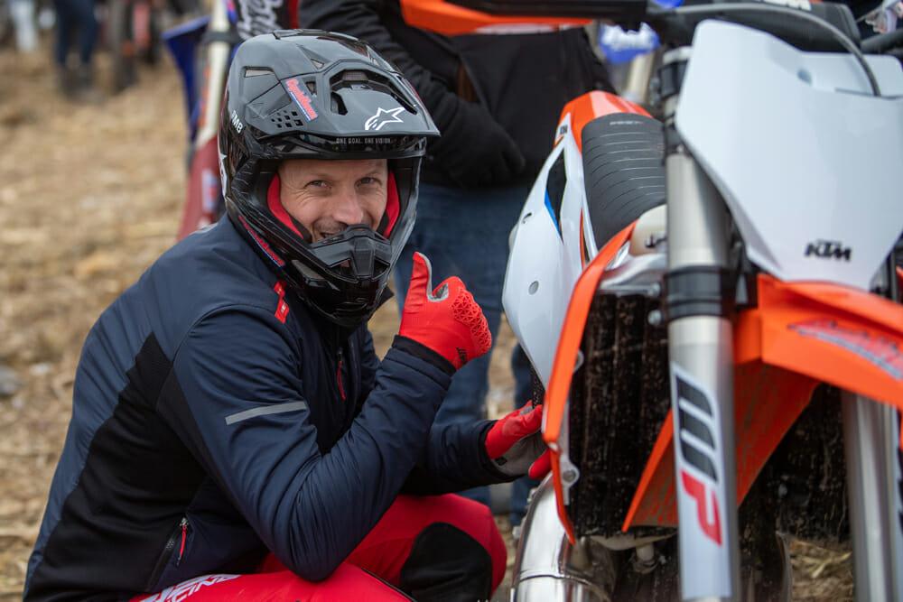 Jesse Ziegler and his 2021 KTM 125 XC