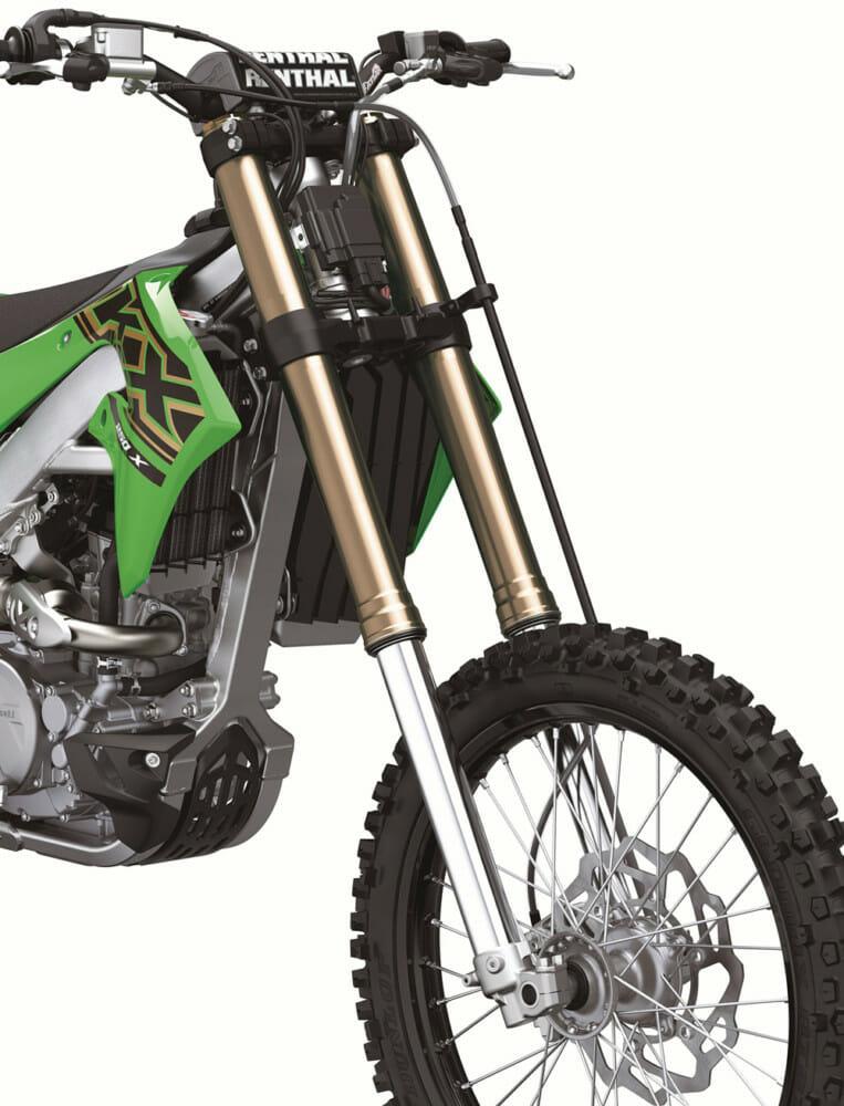 2021 Kawasaki KX250X & KX450X fork