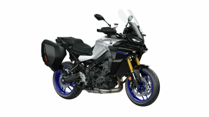 2021 Yamaha Tracer 9 GT silver