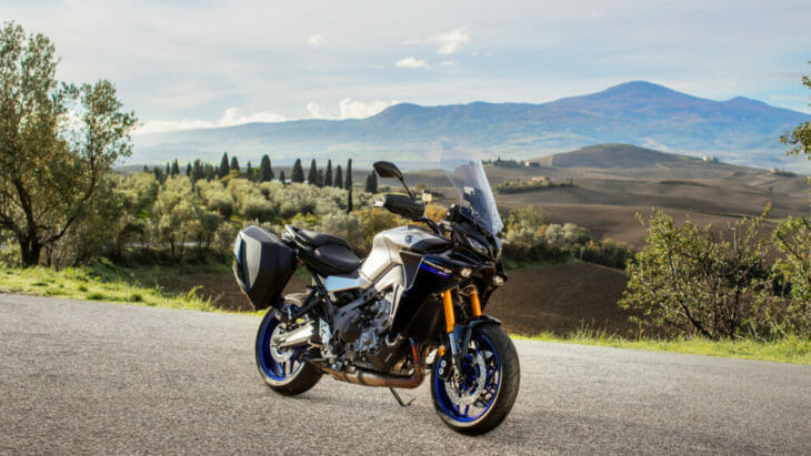 2021 Yamaha Tracer 9 GT First Look