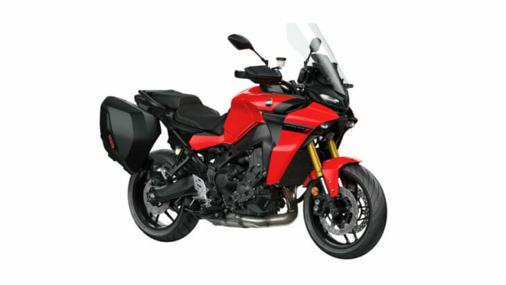 2021 Yamaha Tracer 9 GT red