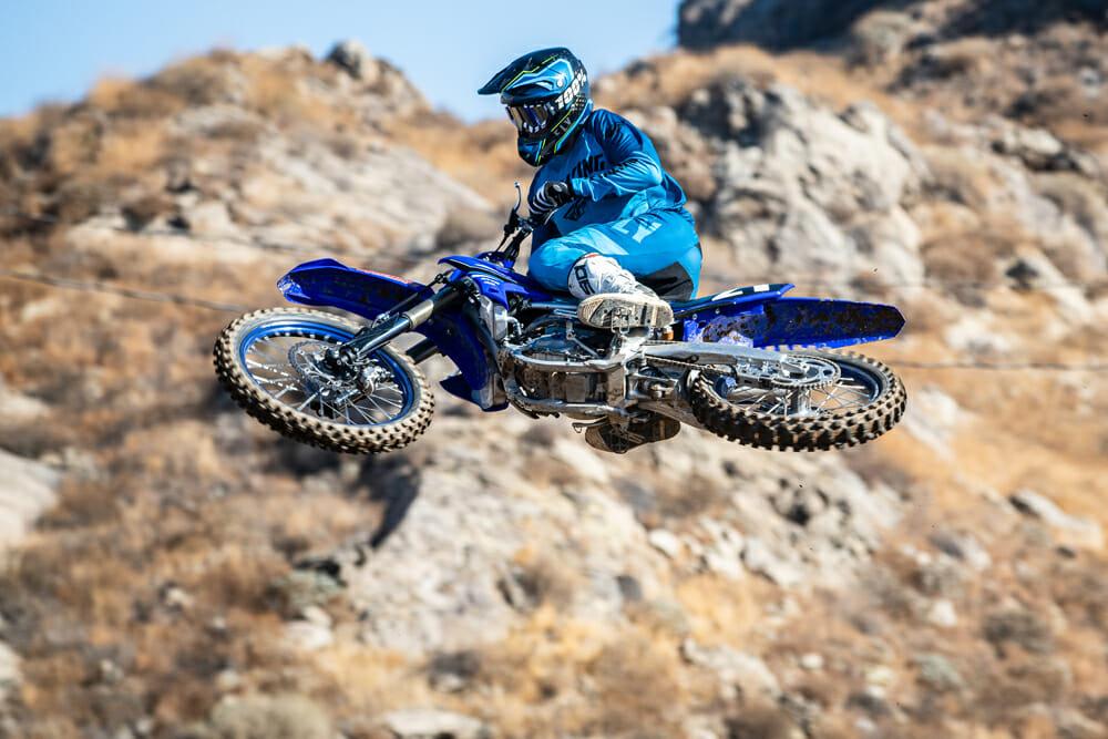 2021 Yamaha YZ250F jumping