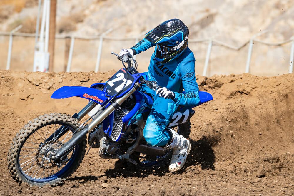 2021 Yamaha YZ250F at State Fair MX track