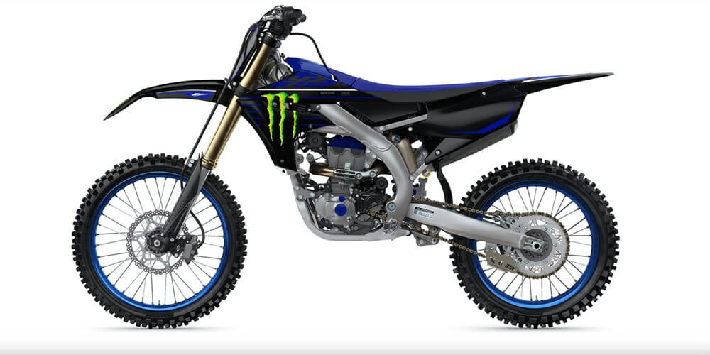 2021 Yamaha YZ250F Monster Energy Yamaha Racing Edition